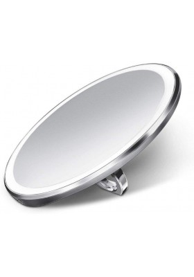 SIMPLE HUMAN - 10Cm Sensor Mirror Compact - 3X Magnification- Brushed S/S