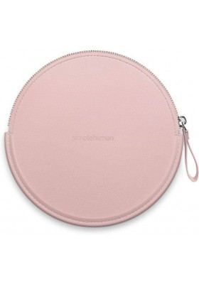 SIMPLE HUMAN - Zip Case For Sensor Mirror Compact - Vegan Leather - Pink