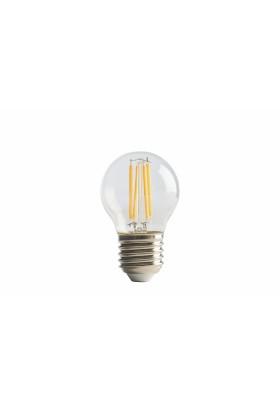 B45 FILAMENT MINI GLOBE, 1PC BLISTER, E27, 4W, 470LM, WARM WHITE, 2700K, NON-DIM, LED LAMP