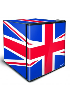 46L COUNTER-TOP BEVERAGE COOLER SOLID DOOR – UNION JACK FLAG