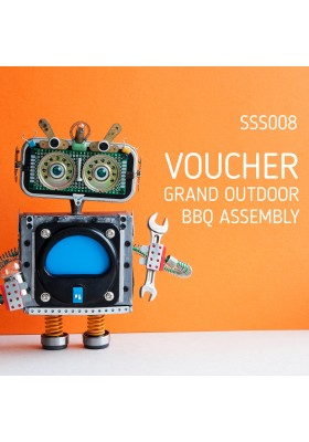 VOUCHER: GRAND OUTDOOR BBQ ASSEMBLY