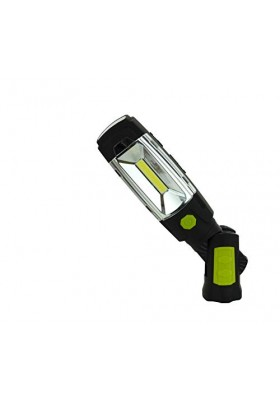 LUCECO - 3W LED INSPECTION TORCH - MAGNETIC - ROTATABLE USB RECHARGEABLE - BUILT-IN POWERBANK