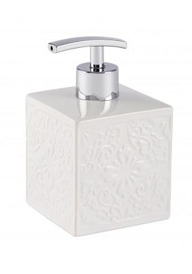 SOAP DISPENSER - CORDOBA RANGE - CERAMIC - WHITE