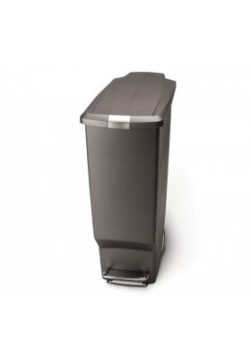 SimpleHuman - 40 Litre Slim Plastic - Grey