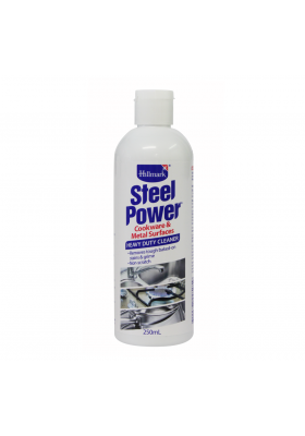 STEEL POWER STAINLESS STEEL CLEANER 250ML