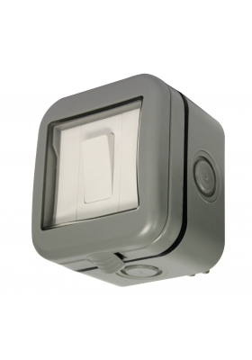 IP55 SINGLE 2-WAY OUTDOOR SWITCH