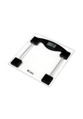 CASA ELECTRONIC GLASS BATHROOM SCALE - CEGS01