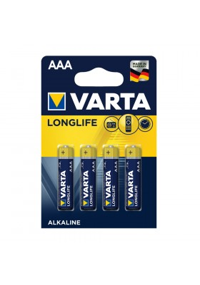 LONGLIFE BATTERIES AAA 4 PACK