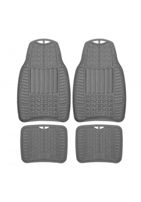 MICHELIN ALL WEATHER 4PC CAR MAT SET 965GR